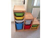 IKEA trofast storage unit - perfect for toys