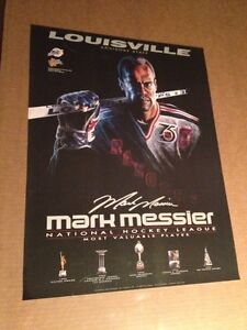 LOUISVILLE MARK MESSIER MVP 1992 POSTER