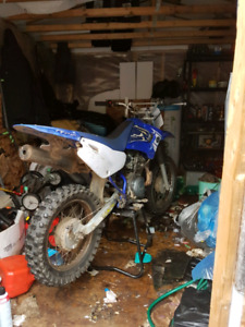 125cc 2007 yamaha ttr with papers