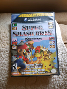 Gamecube w/Gameboy Player and games Smash Bros Melee and Odama