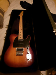 Fender telecaster orange crush 12L amp hard shell guitar case
