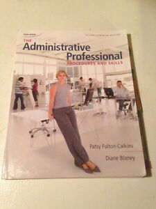 Textbooks for Executive Office Administration Program