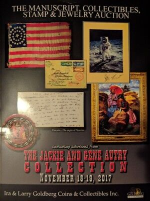 Ira Larry Goldberg Jackie Gene Autry Collection Stamp Painting Jewelry Militaria
