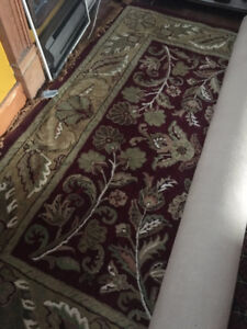 "India wool rug 7'7' x9'7"" $400.00 or BO"