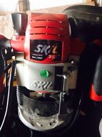 Skil router and bits