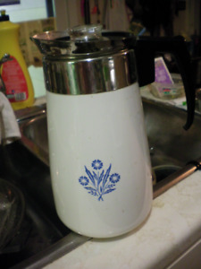 Classic corning ware coffee maker