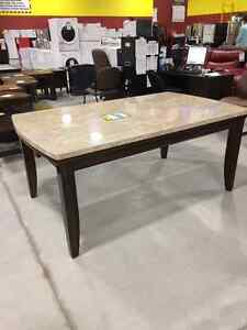Eileen Dining table brand new $375 + 4 chairs