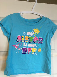 Children's Place sibling t-shirt, 18 months