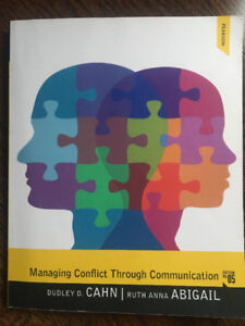 Managing Conflict through communication fifth edition textbook