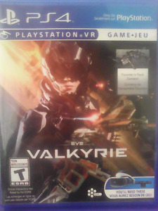 Valkyrie ps4 virtual reality game