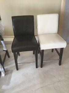 2 New Leather Chairs