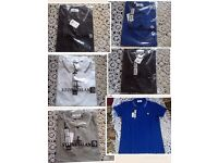 Stone island classic mens polo t shirt short sleeves 5x colours £18 each cotton