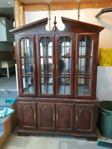 Beautiful Glass Display Cabinet *AVAILABLE IN SPRING