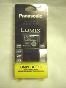 *NEW* Panasonic Digital Camera Battery - DMW-BCE10