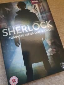Sherlock series 1 and 2 (DVD)