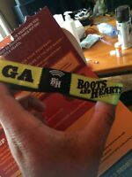 1 GA boots and hearts unregistered