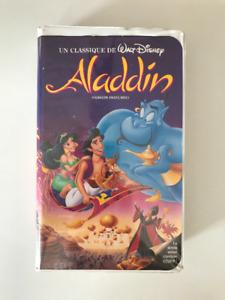 VHS enfant Aladdin version française VHS