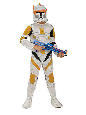 Clone Trooper Commander Cody Kostüme (Child Star Wars Commander Cody Storm Clone Trooper Fancy Dress Costume Ages 3-10)