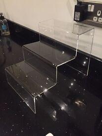 Perspex display stand