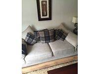3Seater Sofa from Oakfurniture Land &Custom made Chair