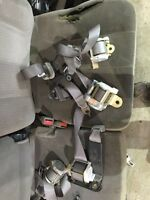 Mint seat belts out of a 2004 Dodge Ram 2500 grey