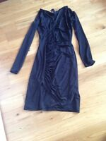 Black Dress with long sleeves NEW