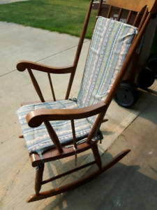 70's rocking chair