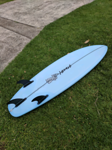STACEY WAVE SLAVE SURFBOARD 5'9