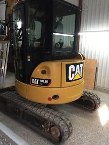 Caterpillar 303.5 E-CR Excavatrice