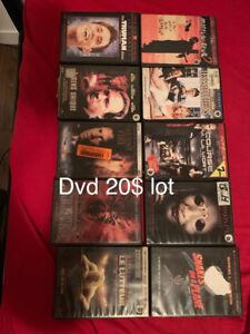 Bonnfilms dvd original 20$ le lot