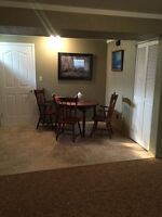 2 Bdrm Bsmt Suite, West end. 1150$ all utilities/cable included