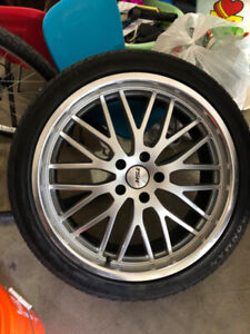 Used 20x8.5 TSW Rims and Tires
