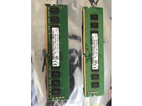 12GB ram DDR4 upgraded so don't need it