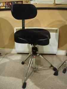 Drum Throne with back rest