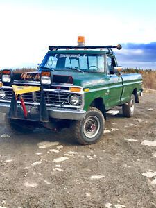 """""""Plow truck for sale """" F250 6000 km on rebuild"""