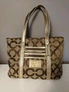 Coach Poppy Tote Bag