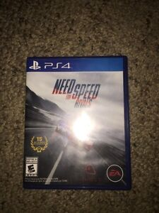 NEED FOR SPEED RIVALS PS4! ONCE USED!!!! Regina Regina Area image 1