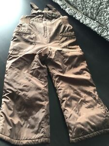 Girls  4T Chocolate Snow Pants - Old Navy