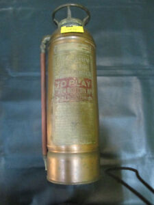 Vintage Peerless Fire Extinguisher For Sale at Nearly New!