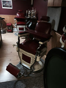 2 GREAT condition Theo A Kochs Barber Chairs Kawartha Lakes Peterborough Area image 7