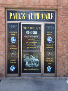 AUDI - VW - BMW - MERCEDES Specialist Mechanic 20 + YEARS
