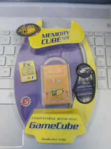 GameCube Memory Card - Sealed!!!