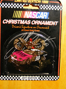 Jeff Burton Nascar Christmas Ornament - 1999