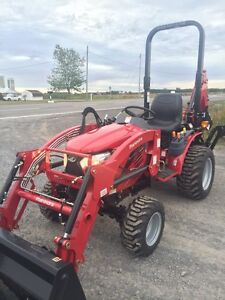 Mahindra tractors. Call Corbeil Equip for an unbeatable quote.
