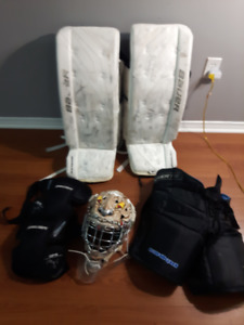 Jr Goalie Gear