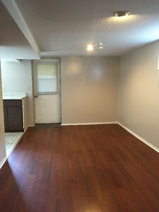 Basement unit available for June