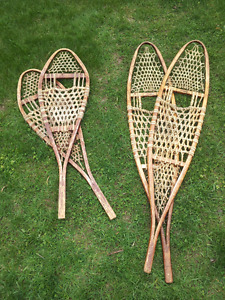 Old School Snowshoes