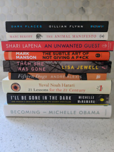 Assorted New Release Books