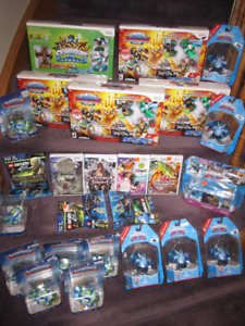 Wii Games - Assorted Games and Accessories - New, Check List