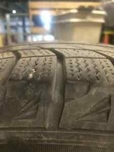 4 Michelin X-ICE Winter Tires with Rims London Ontario image 2